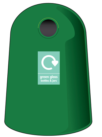 Bottle Bank - green - WRAP Resource Library