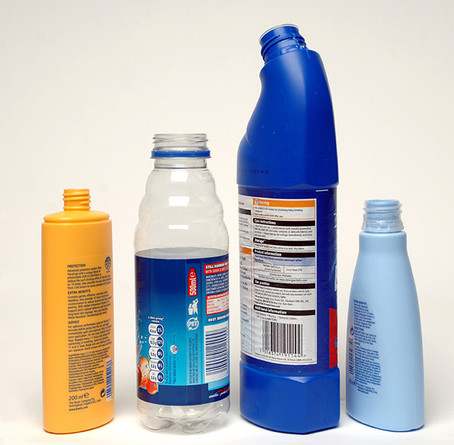 Assorted Plastic Bottles Without Lids Cleaning Bathroom And Drinks Bottles Wrap Partners