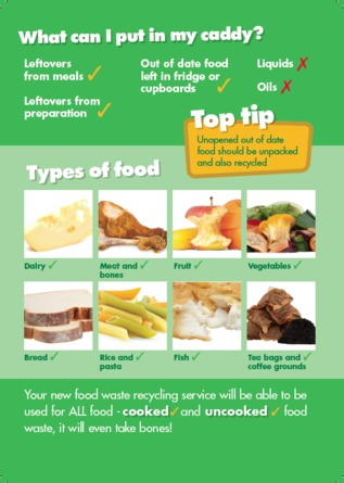 Food waste types and causes