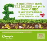 Recycle for London - Food Recycling - Landfill - Vehicle Livery (Square)