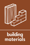 Building Materials signage - Materials icon (portrait)