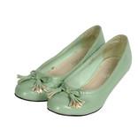 Women's green shoes