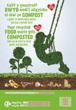 Good to Know - Food waste collection - Bilingual Posters - Park (Welsh-English)