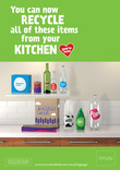 Good to Know - A4 poster - kitchen - multi material