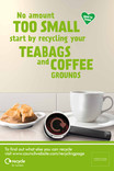 Recycle for London - Food recycling - Coffee (Cup) - 6 sheet poster