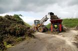 Shredding green waste - industrial