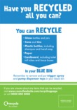 Recycle for London - Good to Know residual bin sticker