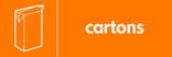 Cartons signage - carton icon (landscape)