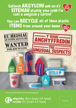 Unusual Suspects - Plastics - Bilingual Posters (Welsh-English)