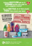Unusual Suspects - Plastics - Bilingual Posters (Welsh-English)