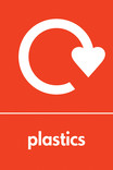 Plastics icon - logo (portrait)