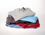 Neat pile of men's clothes