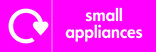 Small Appliances signage - logo (landscape)