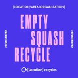 Empty, squash, recycle social media asset. Embargoed until 23 September 2019