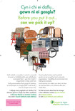 HWRC re-use poster - Bulky Waste heart - Bilingual (Welsh-English)