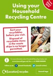 Recycle Now NI HWRC Poster 1p A4 with info