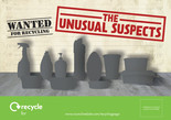Unusual Suspects - Plastic - Leaflet