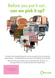 Leaflet A5 - Bulky Waste heart