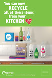 Recycle for London - Good to Know kitchen multi material poster 6 Sheet