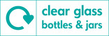 Clear glass signage - logo (landscape)