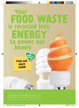Good to Know - Food A5 Leaflets (with brown caddy - CO2 version) (English & Cymraeg)