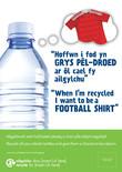 Good to Know - Plastics - Plastics transformation - Bilingual A3 posters (Welsh first)