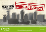 Recycle for London Unusual Suspects Leaflet/Flyer