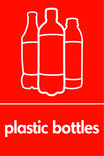 Plastic bottles (500ml juice) signage - juice bottles icon (portrait)