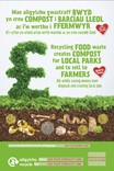 Good to Know - Food waste collection - Bilingual Posters - Mixed 2 (Welsh-English)