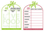Love Food Hate Waste memo board (fridge planner)