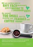 Good to Know - Food - Bilingual A2 Posters (x3) - Apple, Coffee and Orange (Welsh first)