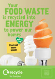 Recycle for London - Food recycling - A5 leaflet