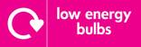 Low energy bulbs signage - logo (landscape)