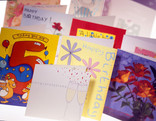 Assorted greetings cards - birthday, wedding, congratulations