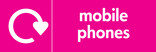 Mobile Phones signage - logo (landscape)