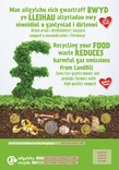 Good to Know - Food waste collection - Bilingual Posters - Mixed 1 (Welsh-English)