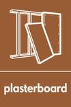 Plasterboard signage - plasterboard icon (portrait)