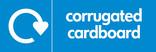 Corrugated cardboard signage - logo (landscape)
