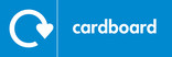 Cardboard signage - logo (landscape)