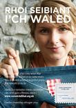 Love Your Clothes - Give Your Wallet Some TLC - A4 Poster - Welsh