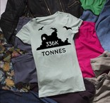 Love Your Clothes Donation Generation - 336,000 tonnes animation - social media post