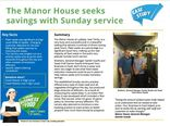 Your Business is Food case study - The Manor House