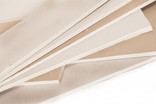 Sheets of MDF