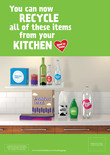Good to Know - A3 poster - kitchen - multi material