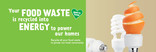 Food recycling - Orange - Facebook and Twitter images