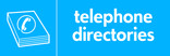 Telephone directories signage - directory icon (landscape)