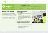 Recycle Now Northern Ireland Strategy & Plan 2016-2017