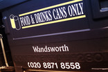 Bring bank - Food and drinks cans only - Wandsworth Council