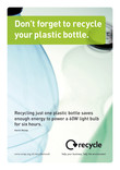 Photographic Poster A4 - Plastic bottles
