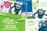 Key stage 1 and 2 bilingual recycling posters: facts and information